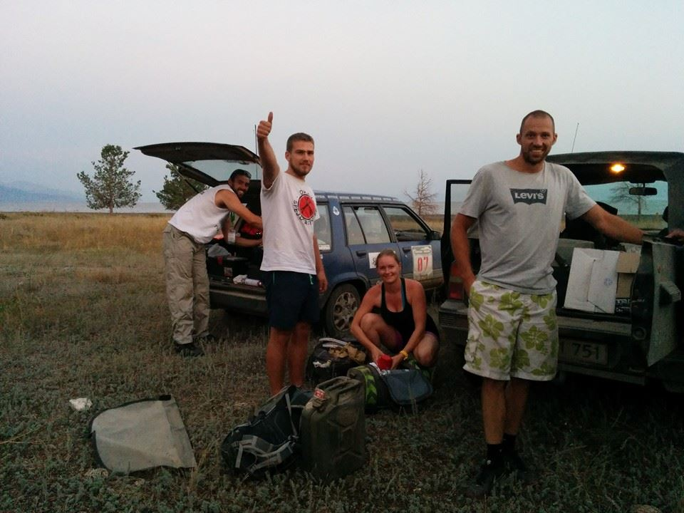 Camping at Lake Sevan