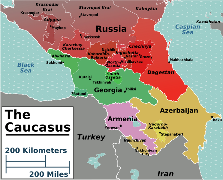 guide to border crossing in the Caucasus