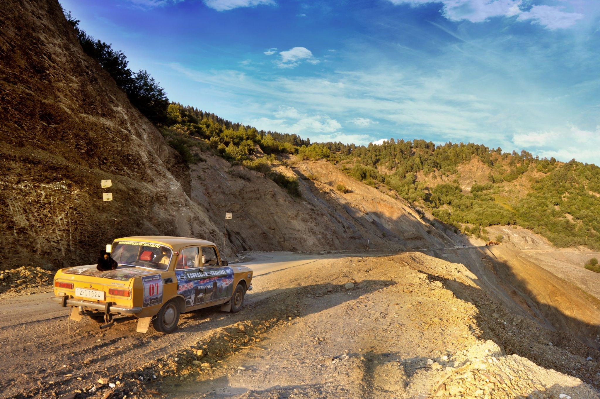 adventure in the caucasus