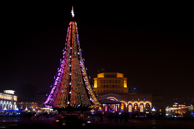 christmas in armenia