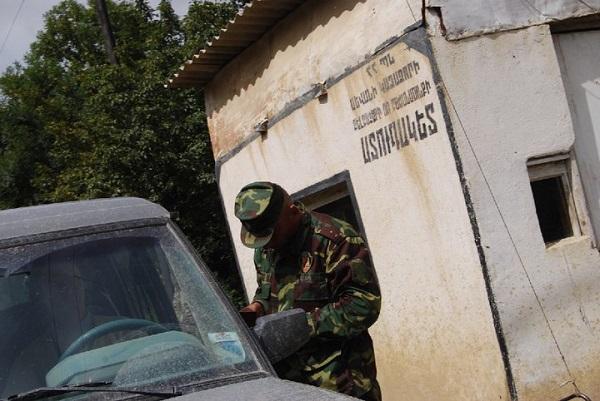 Caucasus region border patrol corruption