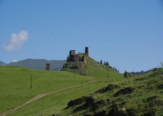 Omalo-castle