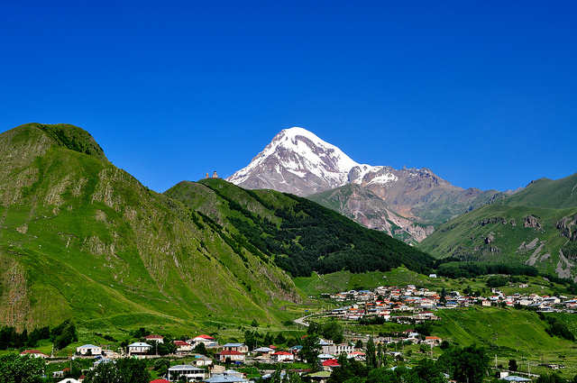 mysterious mountain church