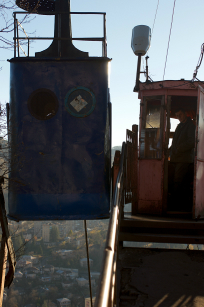 Chiatura's ancient cable cars