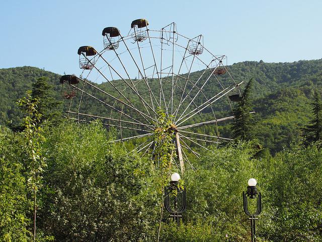 driving to armenia