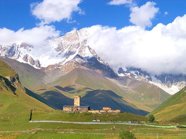 ushguli highest village in europe