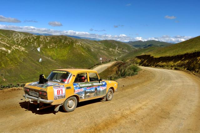 caucasian challenge roads